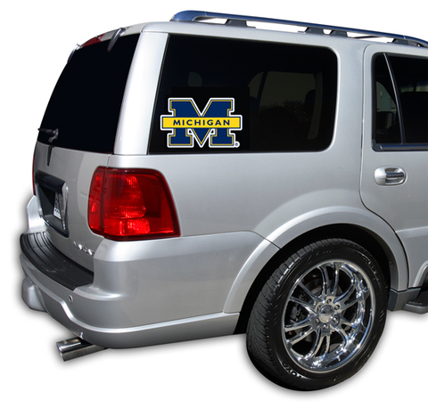 Michigan Wolverines Window Decal