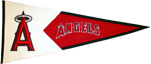 Anaheim Angels MLB Pennant Wool