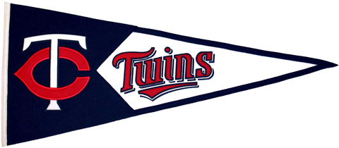 Minnesota Twins MLB Pennant Wool