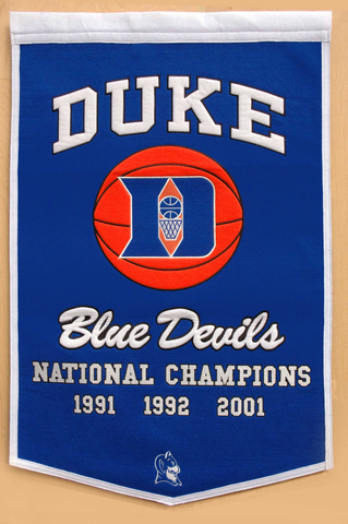 Duke Blue Devils Dynasty Banner