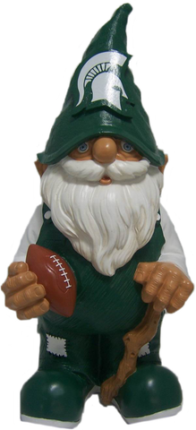 Michigan State Spartans Garden Gnome