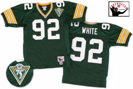 Green Bay Packers Reggie White 1993 Green Jersey - 44 (L)