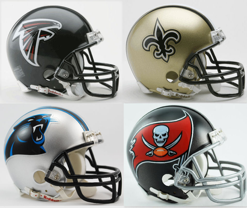 Atlanta Falcons, New Orleans Saints, Carolina Panthers, Tampa Bay Buccaneers NFC South Division