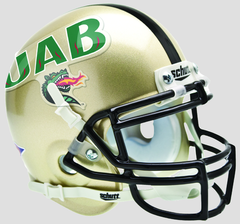 Alabama-Birmingham (UAB) Blazers Mini XP Authentic Helmet Schutt