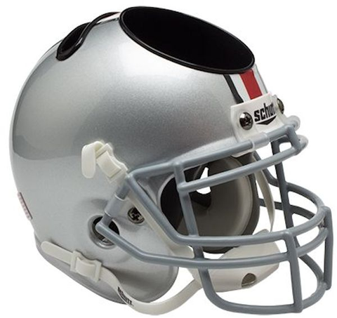 Ohio State Buckeyes Miniature Football Helmet Desk Caddy