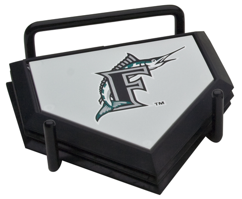 Florida Marlins Coaster Set MLB