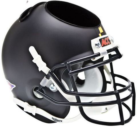 Maryland Terrapins Miniature Football Helmet Desk Caddy <B>Matte Black</B>