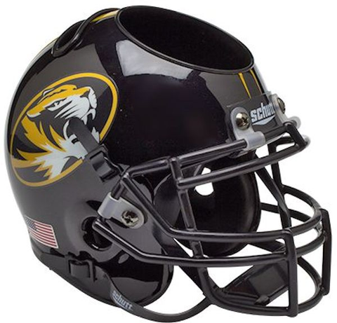 Missouri Tigers Miniature Football Helmet Desk Caddy