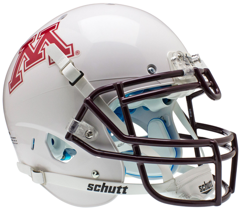 Minnesota Golden Gophers Authentic College XP Football Helmet Schutt  <B>White</B>