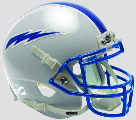Air Force Falcons Mini XP Authentic Helmet Schutt <B>Gray</B>