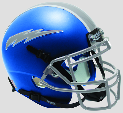 Air Force Falcons Mini XP Authentic Helmet Schutt <B>Satin Blue</B>