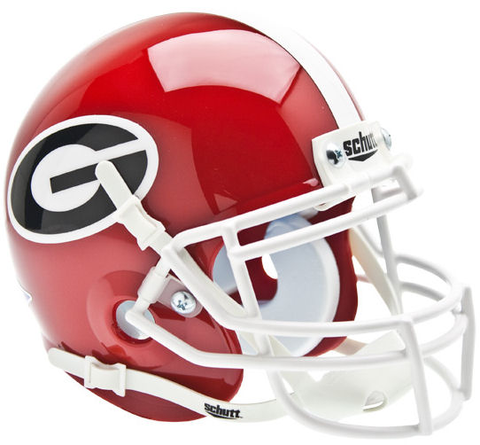 Georgia Bulldogs Mini XP Authentic Helmet Schutt