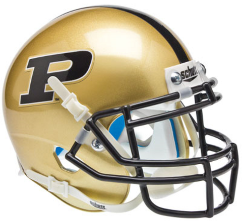 Purdue Boilermakers Mini XP Authentic Helmet Schutt