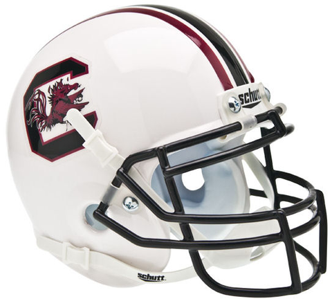 South Carolina Gamecocks Mini XP Authentic Helmet Schutt
