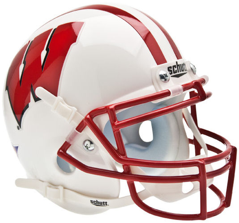 Wisconsin Badgers Mini XP Authentic Helmet Schutt
