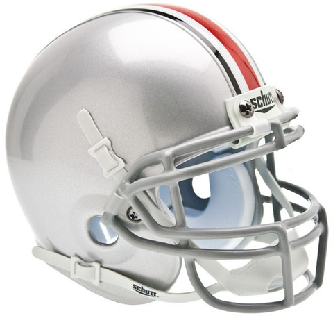 Ohio State Buckeyes Mini XP Authentic Helmet Schutt