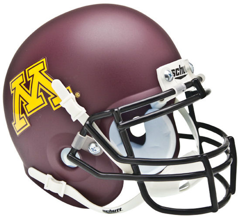 Minnesota Golden Gophers Mini XP Authentic Helmet Schutt <B>Matte</B>
