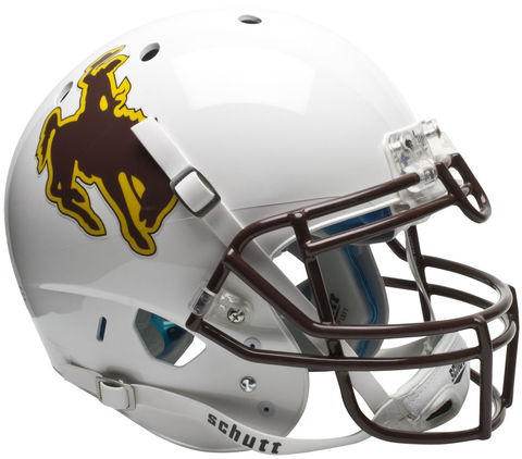 Wyoming Cowboys Authentic College XP Football Helmet Schutt