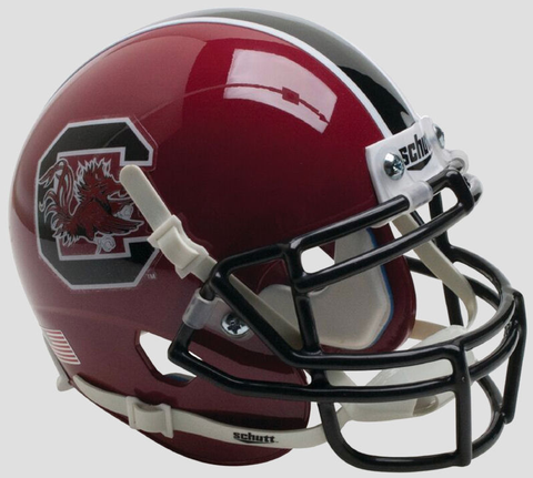 South Carolina Gamecocks Mini XP Authentic Helmet Schutt <B>Maroon</B>