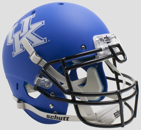 Kentucky Wildcats Authentic College XP Football Helmet Schutt Matte Royal