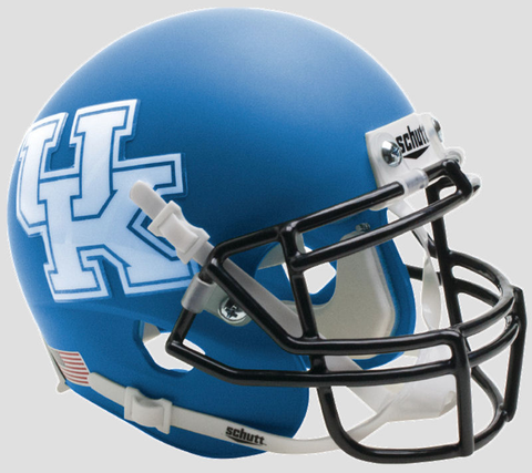 Kentucky Wildcats Mini XP Authentic Helmet Schutt <B>Matte Royal</B>