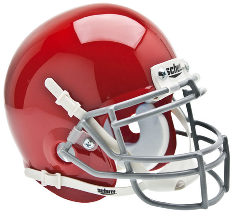 Ohio State Buckeyes Mini XP Authentic Helmet Schutt <B>Scarlet</B>