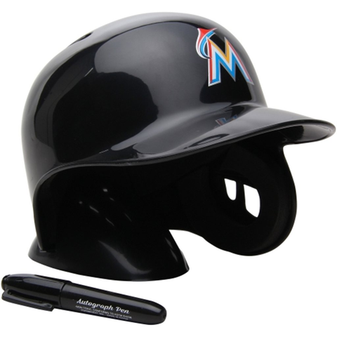 Miami Marlins Rawlings Mini Replica Helmet