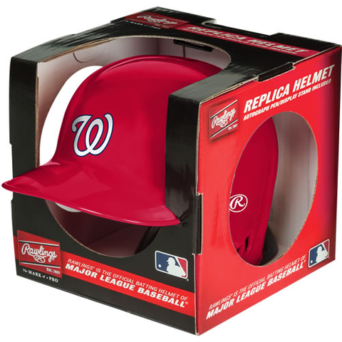Washington Nationals Rawlings Mini Replica Helmet