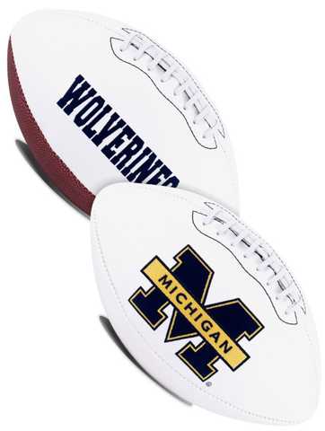 Michigan Wolverines NCAA Signature Series Full Size Football