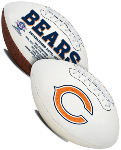 Chicago Bears NFL Signature Series Full Size Football