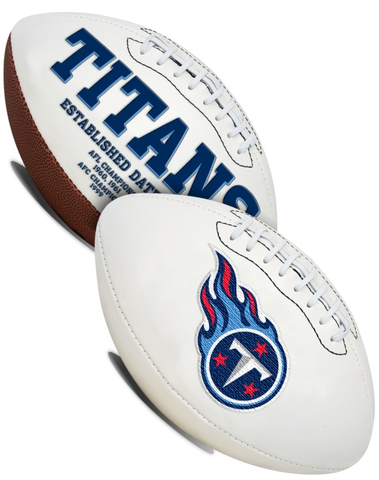 Tennessee Titans NFL Signature Series Full Size Football