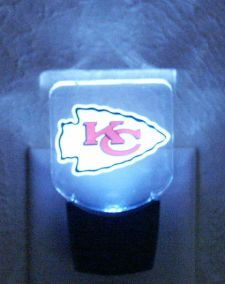 Kansas City Chiefs Night Light