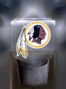 Washington Redskins Night Light