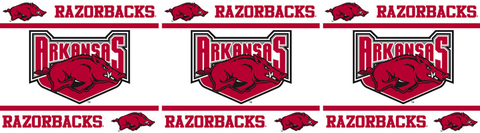 Arkansas Razorbacks Wallpaper Border <B>4 left</B>