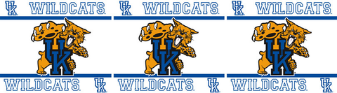 Kentucky Wildcats Wallpaper Border