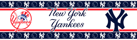 New York Yankees Wallpaper Border <B>14 left</B>