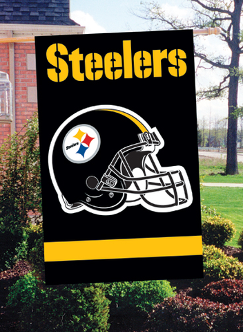 Pittsburgh Steelers Outdoor Flag <B>BLOWOUT SALE</B>