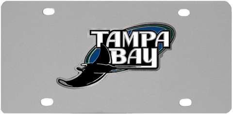 Tampa Bay Rays Logo License Plate