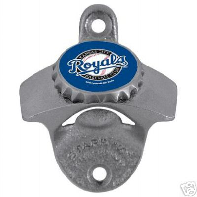 Kansas City Royals Wall Mounted Bottle Opener