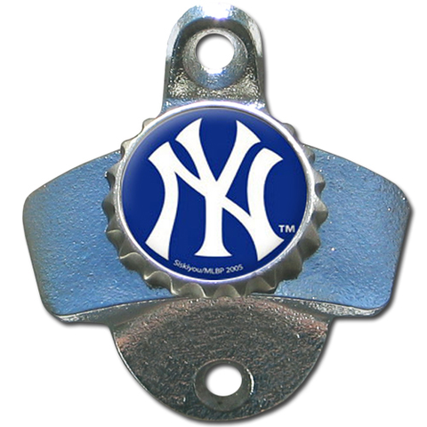 New York Yankees Wall Mounted Bottle Opener