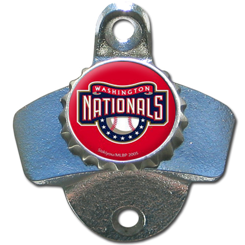 Washington Nationals Wall Mounted Bottle Opener
