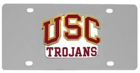 USC Trojans Logo License Plate