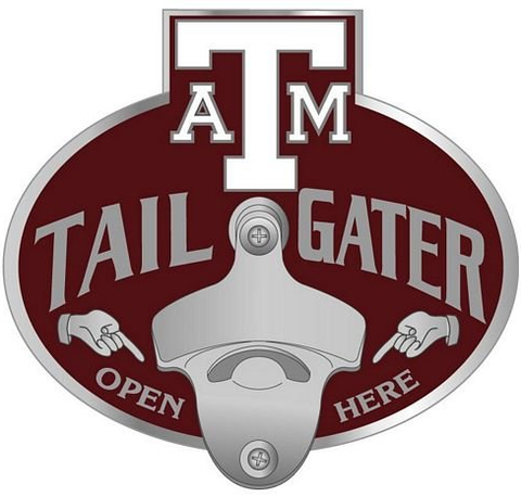 Texas A&M Aggies Bottle Opener Hitch Cover