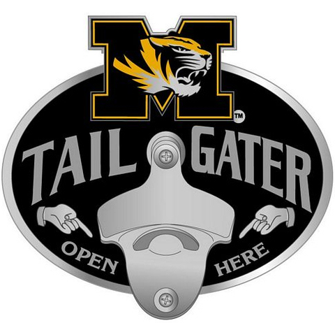 Missouri Tigers Bottle Opener Hitch Cover