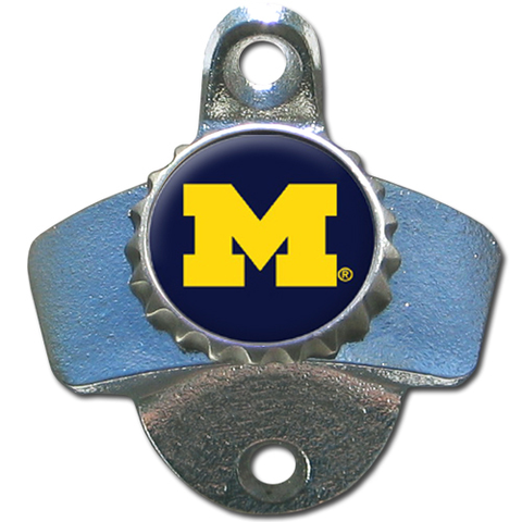 Michigan Wolverines Wall Mounted Bottle Opener Discontinued