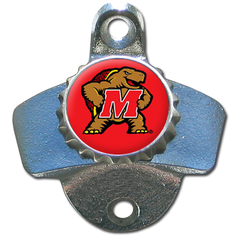 Maryland Terrapins Wall Mounted Bottle Opener