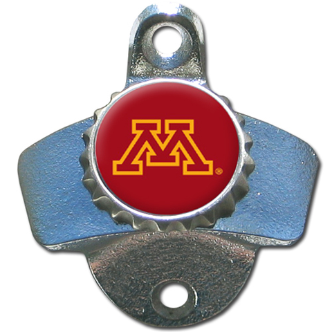 Minnesota Golden Gophers Wall Mounted Bottle Opener