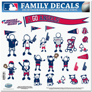 Anaheim Angels Window Decals