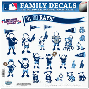 Tampa Bay Rays Window Decals