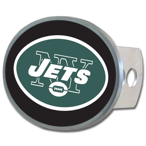 New York Jets Oval Hitch Cover